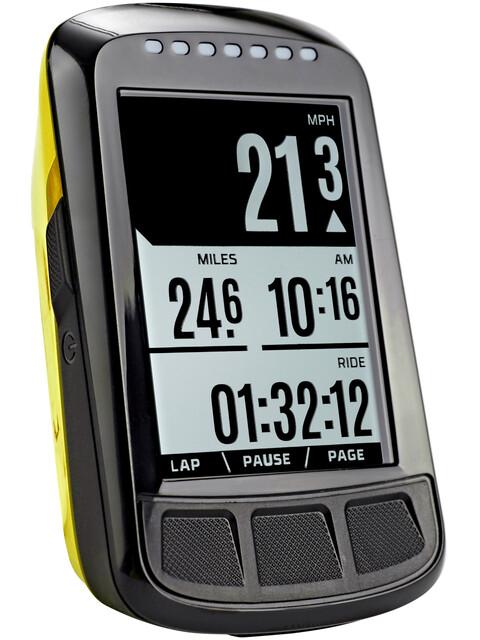 Wahoo Fitness Elemnt Bolt GPS fietscomputer geel/zwart